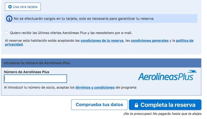 millas de Aerolineas Argentias con bookings.com.jpg